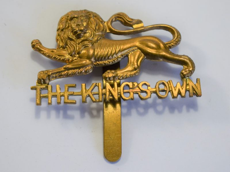 165) Original WW1 WW2 Cap Badge The Kings Regiment
