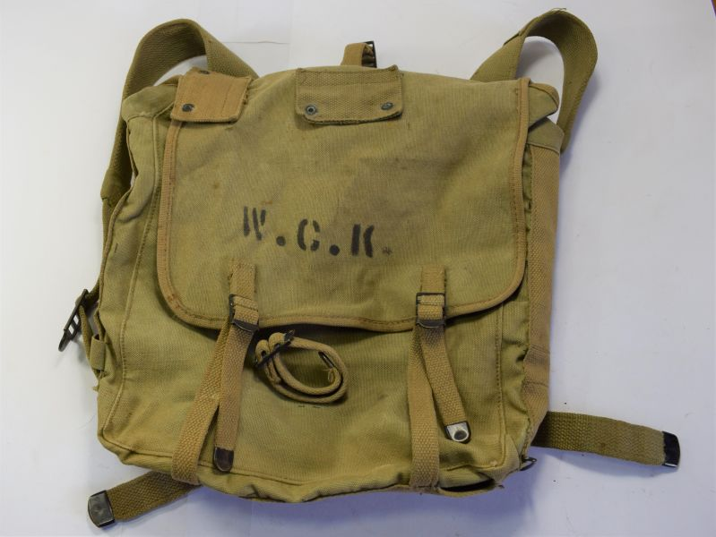 170) Excellent Original WW2 USMC M-1941 Upper Pack Boyt 1943