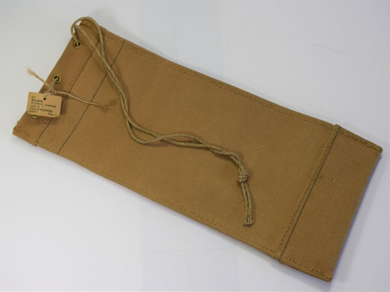 31) Mint Unissued British Military Wireless Set Peg Bag Antennae Rods A ZA.0378 Dated 1944.