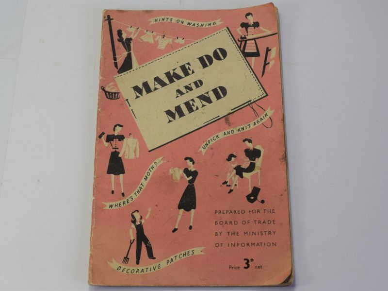46) Original WW2 Home Front Make Do & Mend Pamphlet 1944