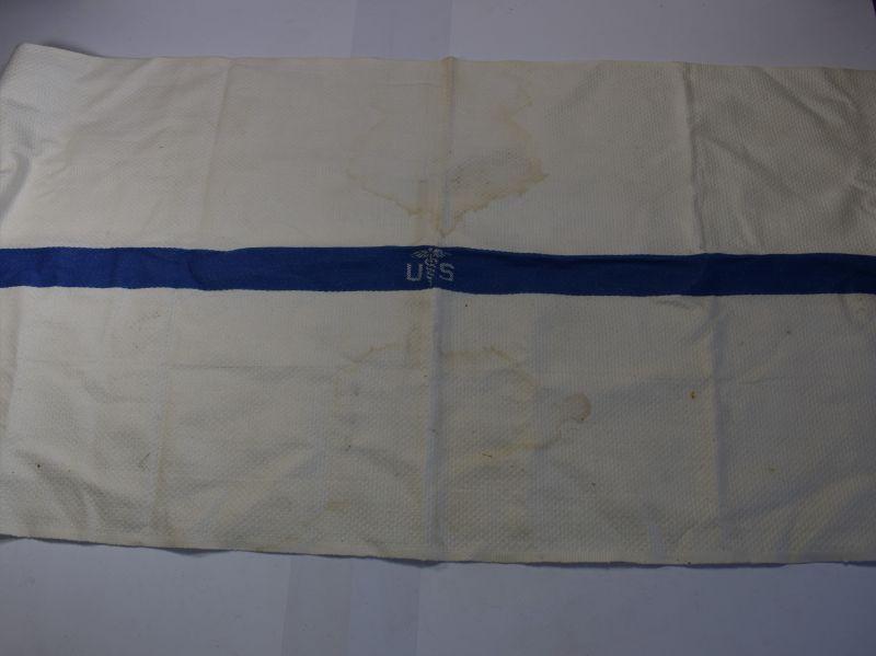 88) Original WW2 US Military Medical Department White Wash Towel