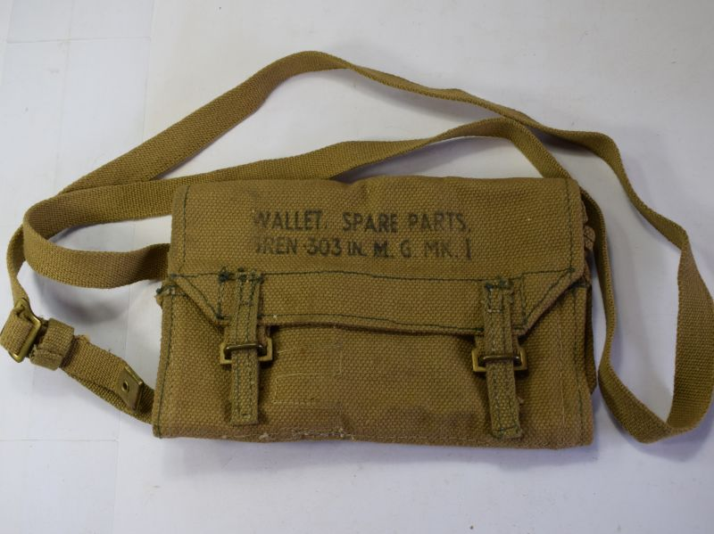 64) Unissued WW2 Wallet Spare Parts Bren .303in MG MKI 1945
