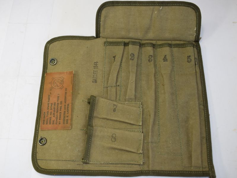67) Excellent Unissued WW2 US Spare Parts Roll M14 Dated 1944