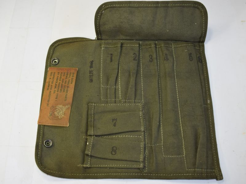 68) Excellent Unissued WW2 US Spare Parts Roll M14 Dated 1944