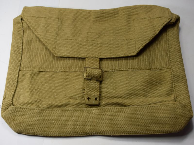 26) Mint Unissued WW2 British Army Officers Valise Web Brief Case 1942