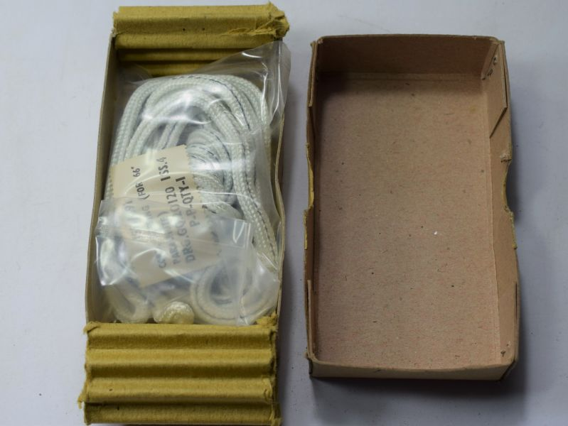 "41) Mint Boxed Cord Reefing for 66"" Parachute RAF 15D/491"