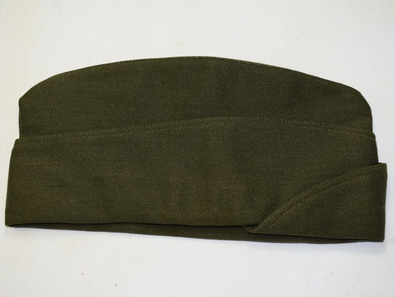 117)Good Clean WW2 ? US Army Issue Garrison Cap