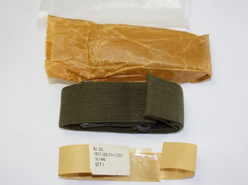 Original 1950s Korean War, Vietnam M1 Rifle Sling Unissued in Packaging