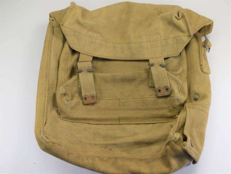 11) Original WW2 British Army Issue Wireless Set Haversack WA10099