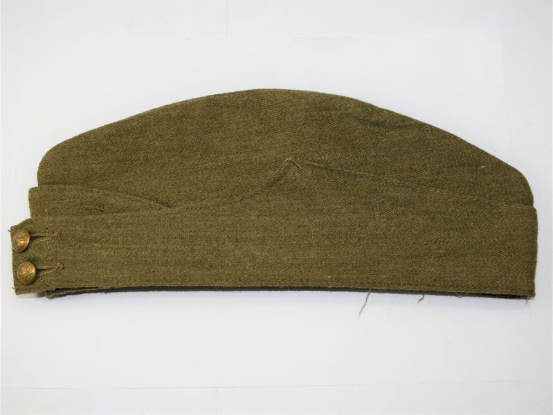 61) Excellent Original WW2 British Army Issue Forage Cap Dated 1940