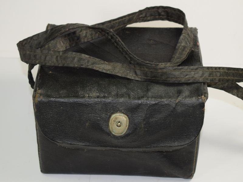 87) Good Original WW2 Civilian Respirator Private Purchase Carry Case