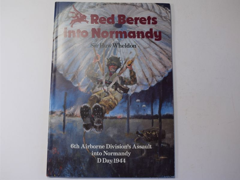 122) Booklet Red Berets Into Normandy, 6th Airborne Div Normandy
