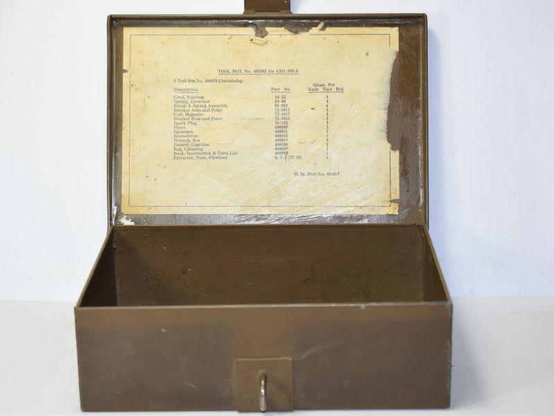 125) Heavy Duty WW2 British/Canadian Generator Tool Box CH1-395-5