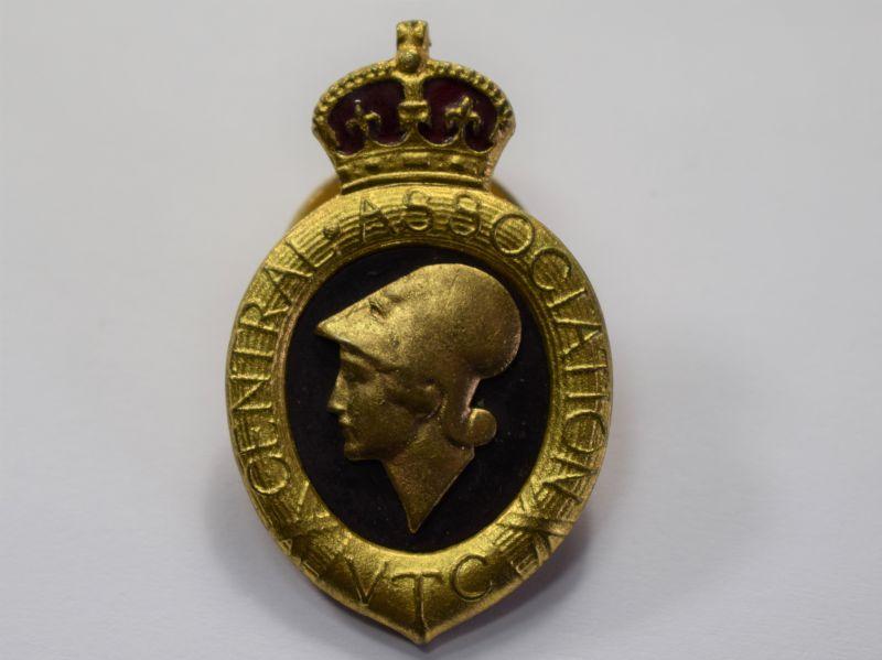 139) Excellent Original WW1 Volunteer Training Corps Proficiency Badge