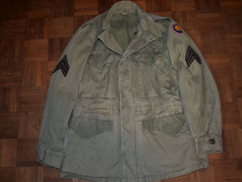 147) Original WW2 US Army Issue M-43 Jacket