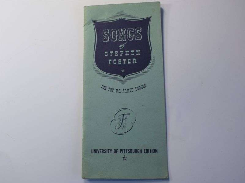 97) Original WW2 US Armed Forces Songs of Stephen Foster 1943