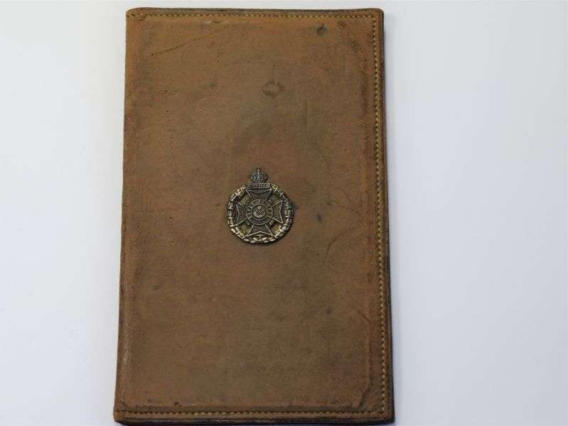 103) Small WW1 WW2 Leather Photo Wallet? The Rifle Brigade