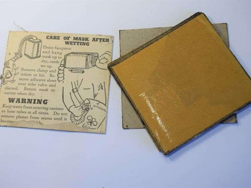 156) Original WW2 US Army Scotch Tape Waterproofing for Respirator