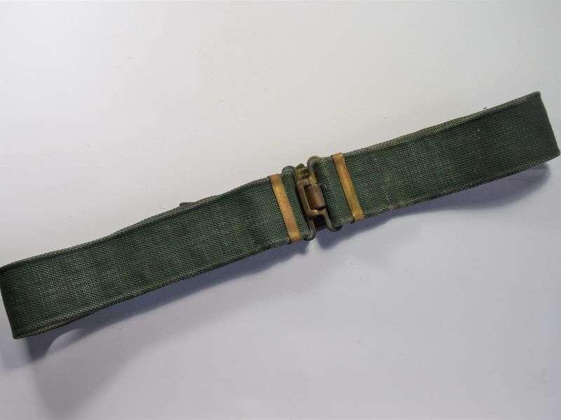 GD2) Original WW2 British Army 37 Pattern Web Waistbelt MECo 1944