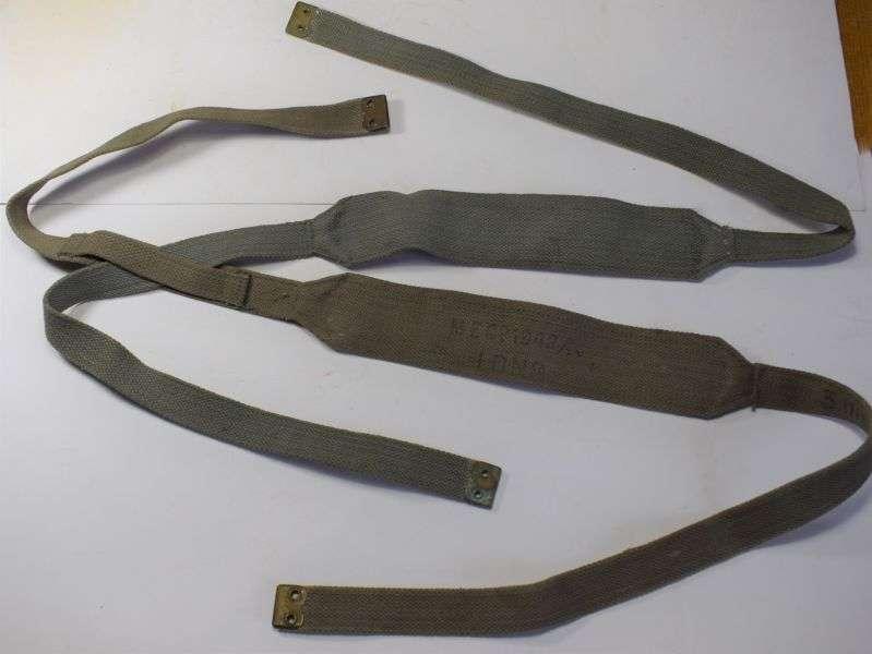 88) Original WW2 RAF 37 Pattern Web Cross Strap Braces Pair