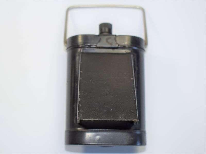 2) Nicely GRVI Marked WW2 ARP Bike/Belt Lamp ARP 1941