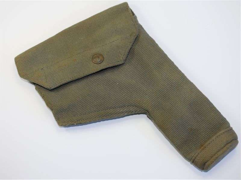 6) Post WW2 RAF Webbing Pistol Holster Dated 1951