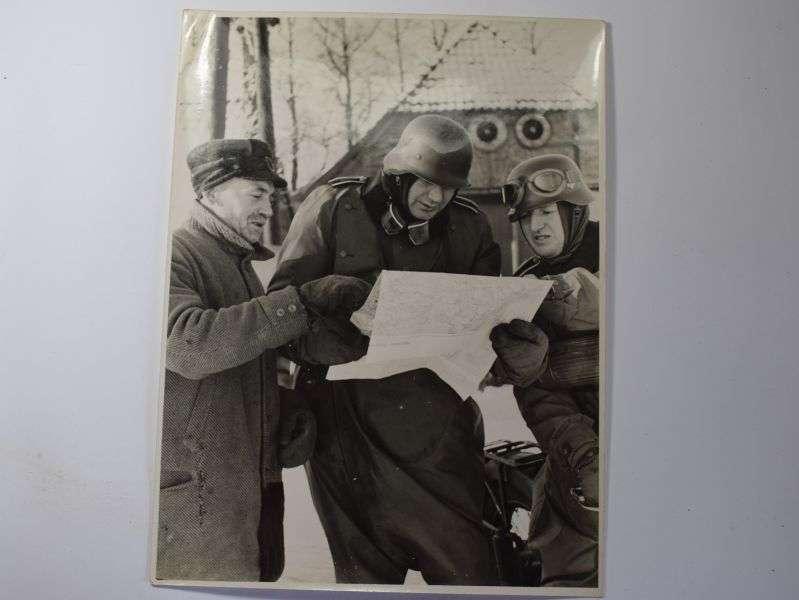 151) Large Interesting Original WW2 German Press Photograph