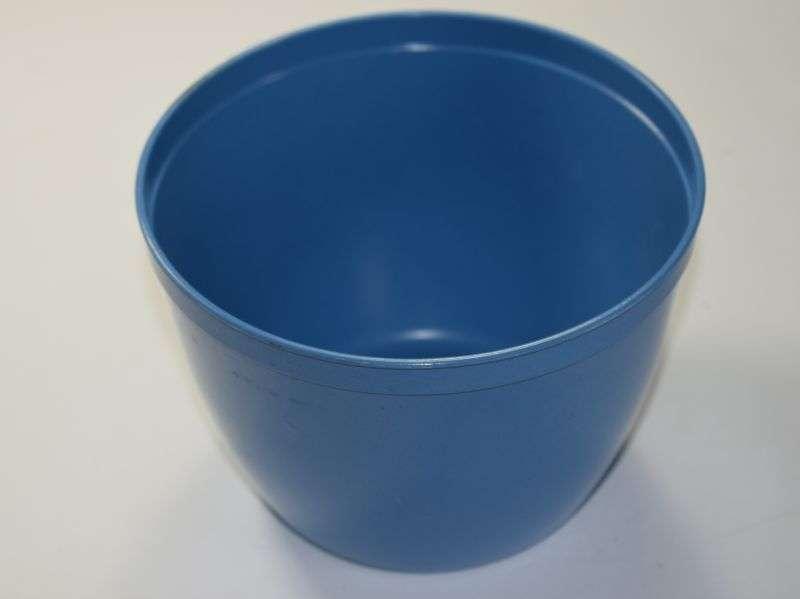 WW2-1950s War Ministry of Food Plastic Blue Bowl