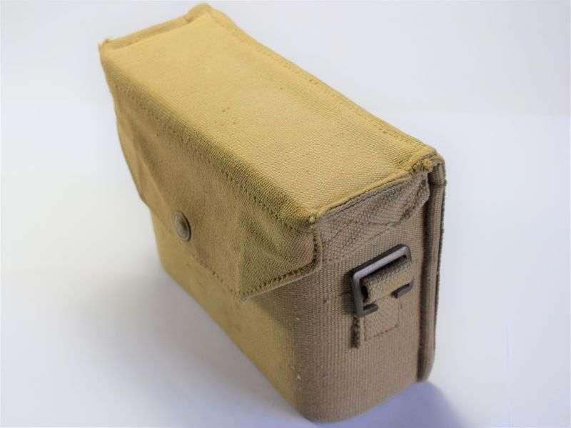 25) Excellent Original British 37 Pattern Binocular Case Finnigans Ltd 1942