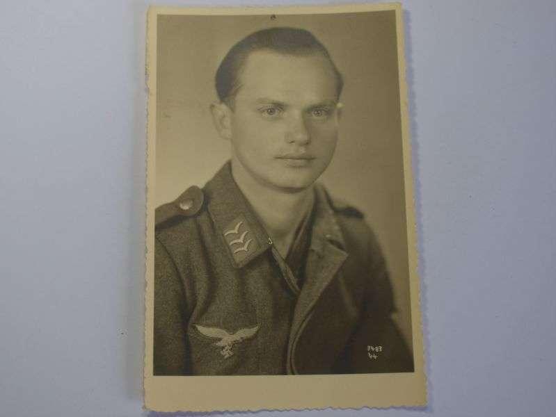 168) Excellent Original 1930s-WW2 Portrait Photograph of German Air Force Officer