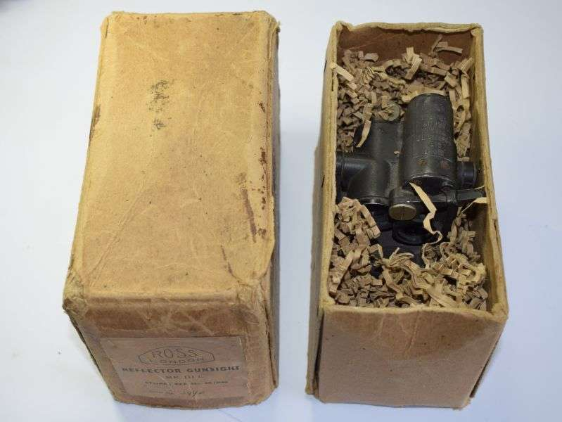 173) Excellent Early RAF Aircraft Sight Gun Prismatic Type GI Ref 7A/1661