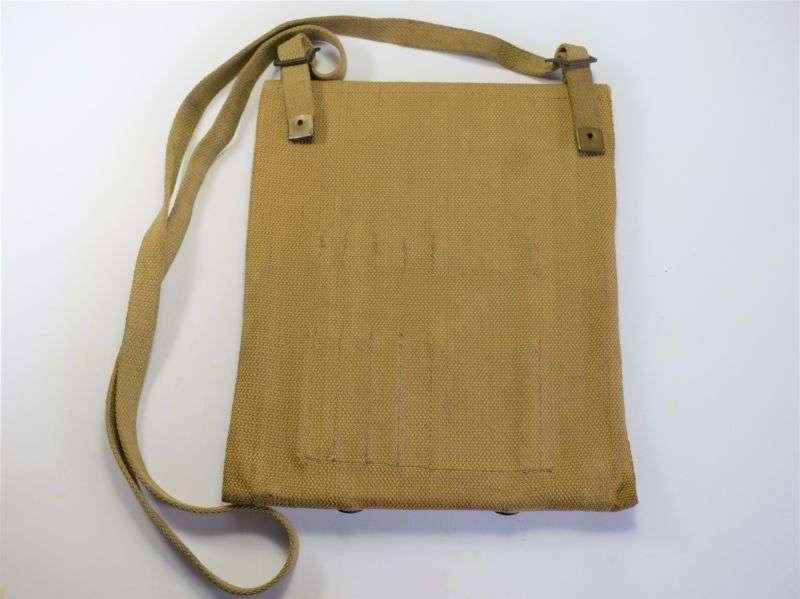 51) Good Original WW2 British Army Issue Map Case BHG Ltd 1945