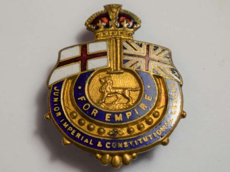 67) Early For Empire Enamel Lapel Badge Junior Imperial & Constitutional League
