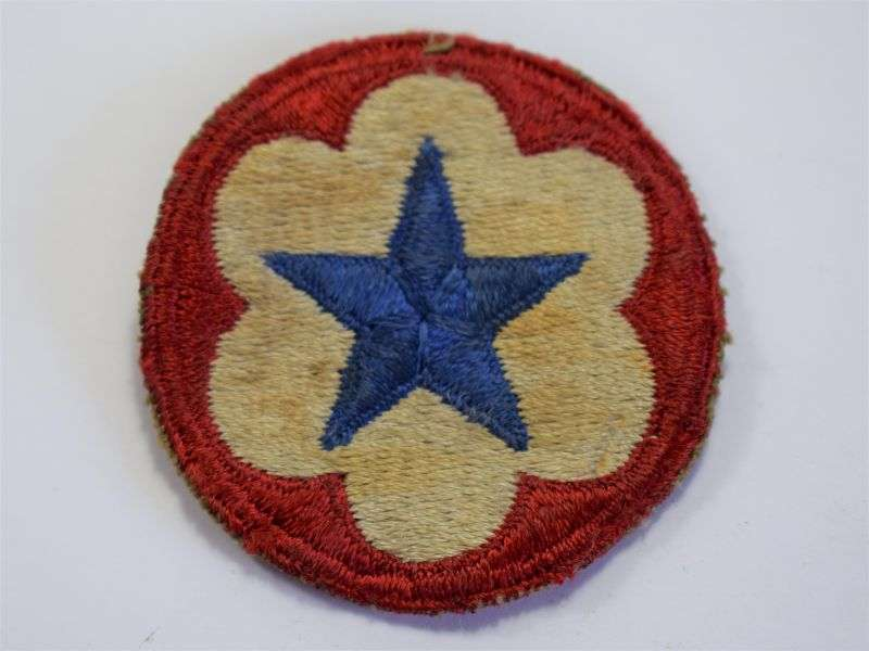 92) Original Used WW2 US Army Service Forces Cloth Badge