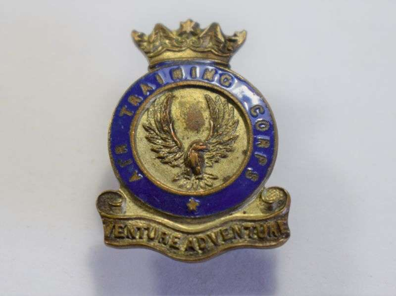 100) Original WW2? Air Training Corps Lapel Badge