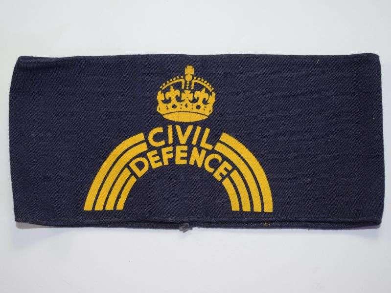 105) Original WW2 British Home Front Civil Defence Armlet