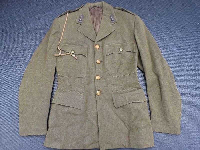 122) Clean Original WW2 Officers SD Jacket Captain Royal Engineers 1944