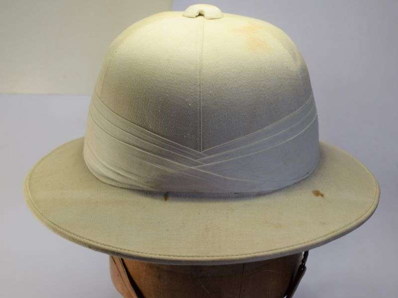 129) Good Original 1930s Solar Topee Pith Helmet Sun Helmet