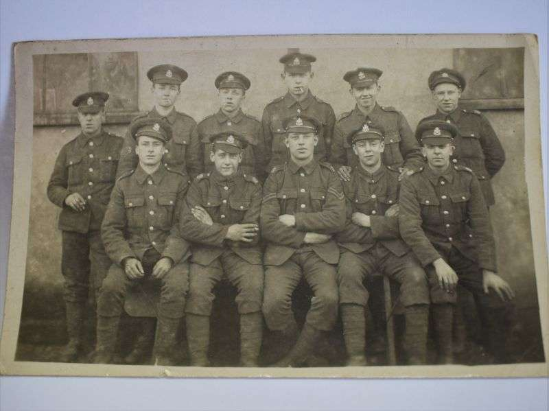 138) Good Original Group Photograph of British Soldiers