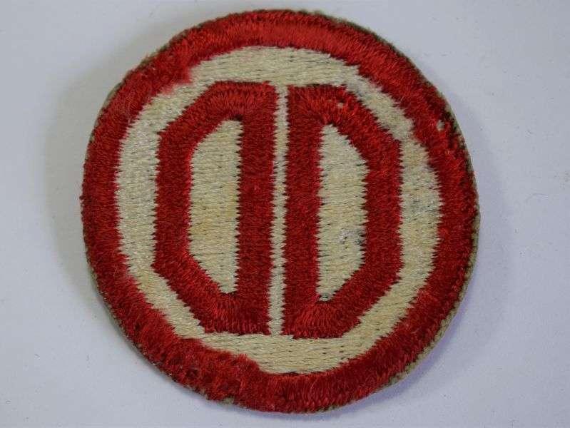 16) Original WW2 US Army 31st Infantry Division Cloth Badge