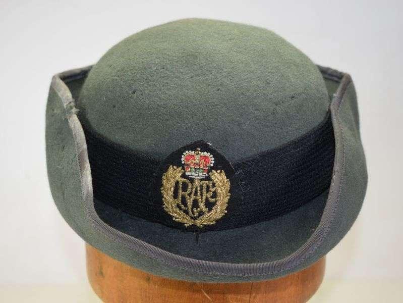 41) Tatty 1960s? WRAF Tricorn Hat