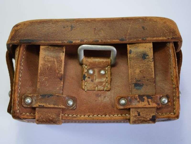 59) Excellent Original WW2 German Medics Pouch Dated 1941