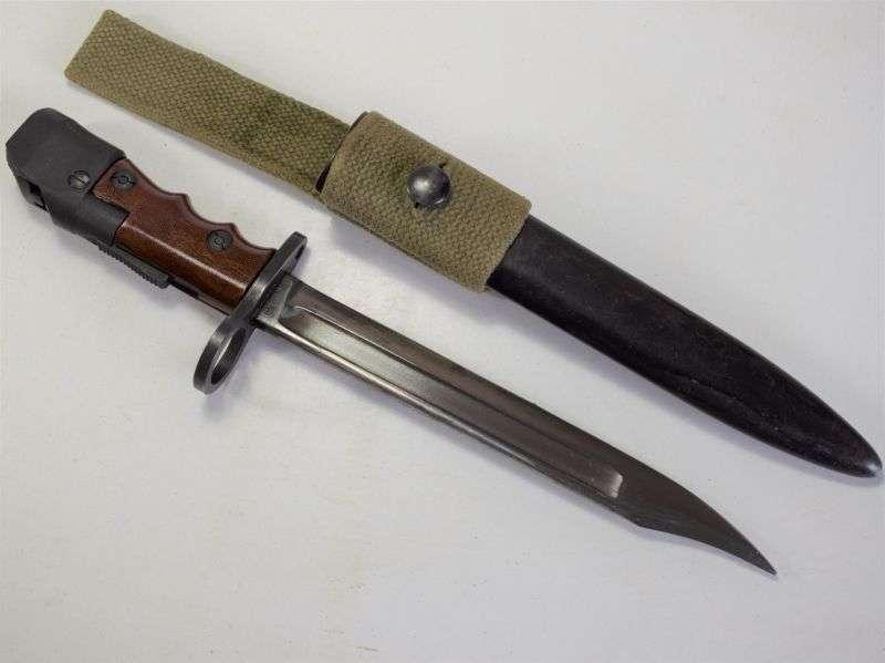 64) Excellent WW2 British Army No7 MK I/L Bayonet by Elkington