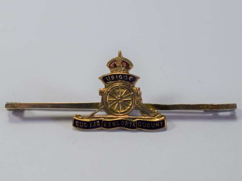 82) Nice Original WW1 WW2 Royal Artillery Sweetheart Brooch