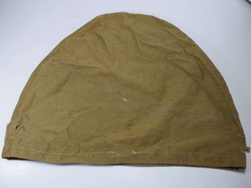 116) Tatty Original WW1 WW2 British Army Pith Helmet Cover