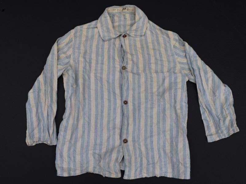 121) Original WW2-1950s British Military Pyjama Top