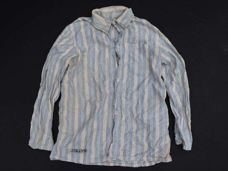122) Original WW2-1950s British Military Pyjama Top