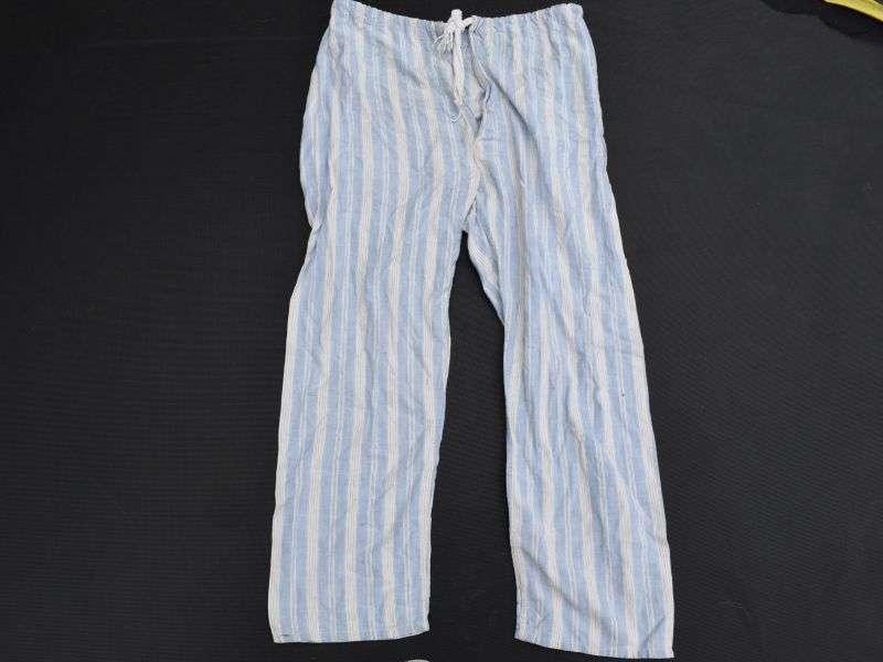 123) Original WW2-1950s British Military Pyjama Trousers