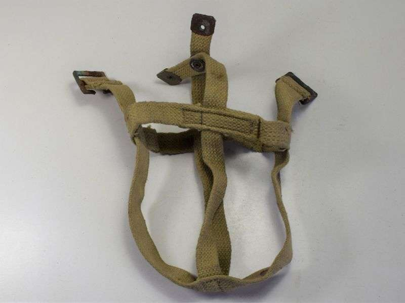 9) Original WW2 South African Made Water Bottle Cradle 1944