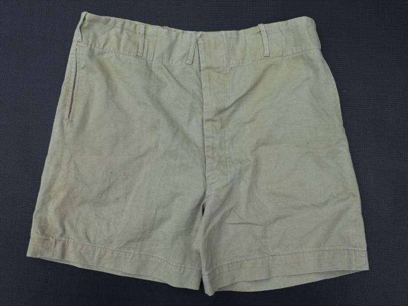16) WW2 British Army Officers Private Purchase KD Shorts